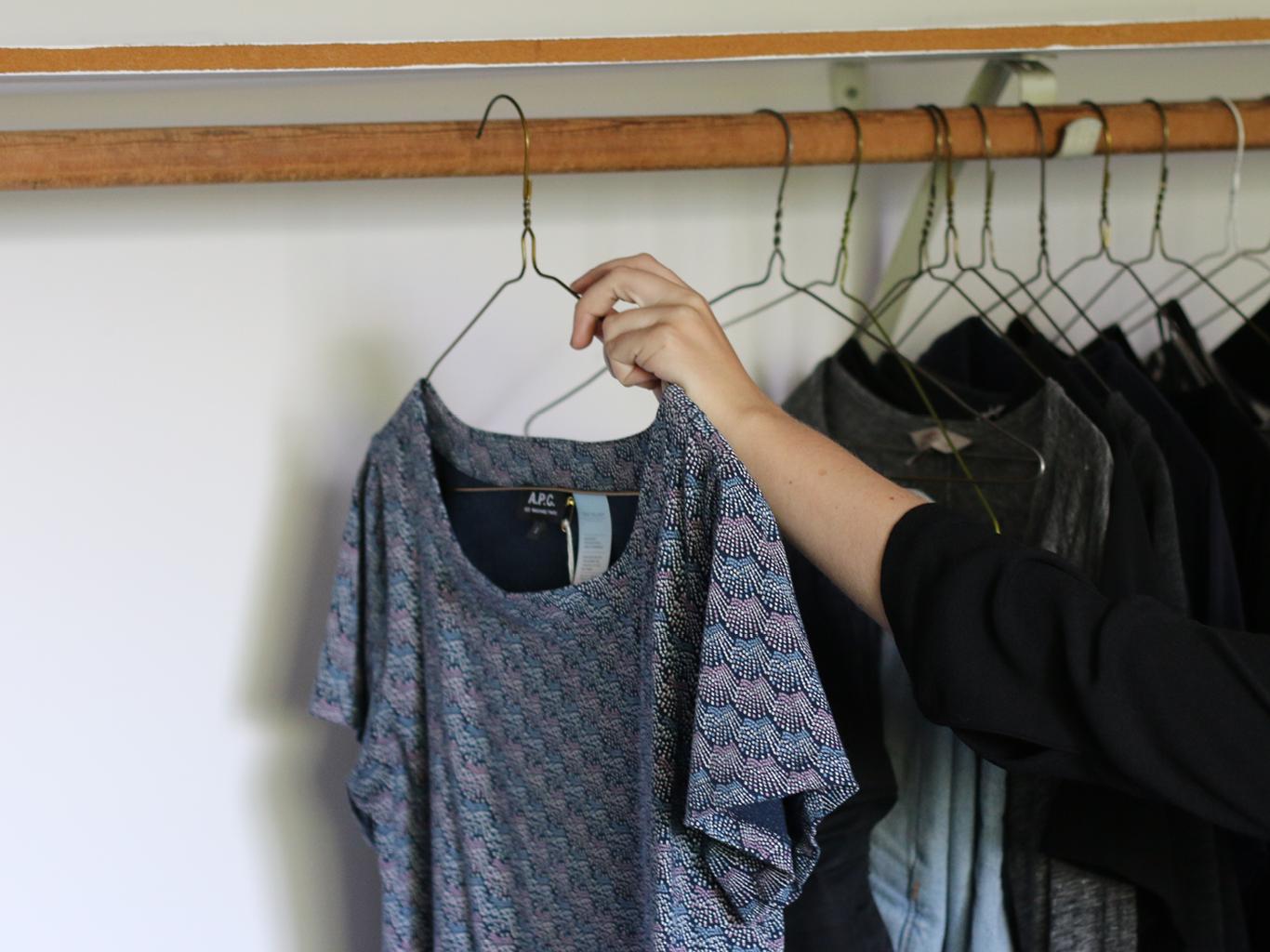 Adds garment to wardrobe