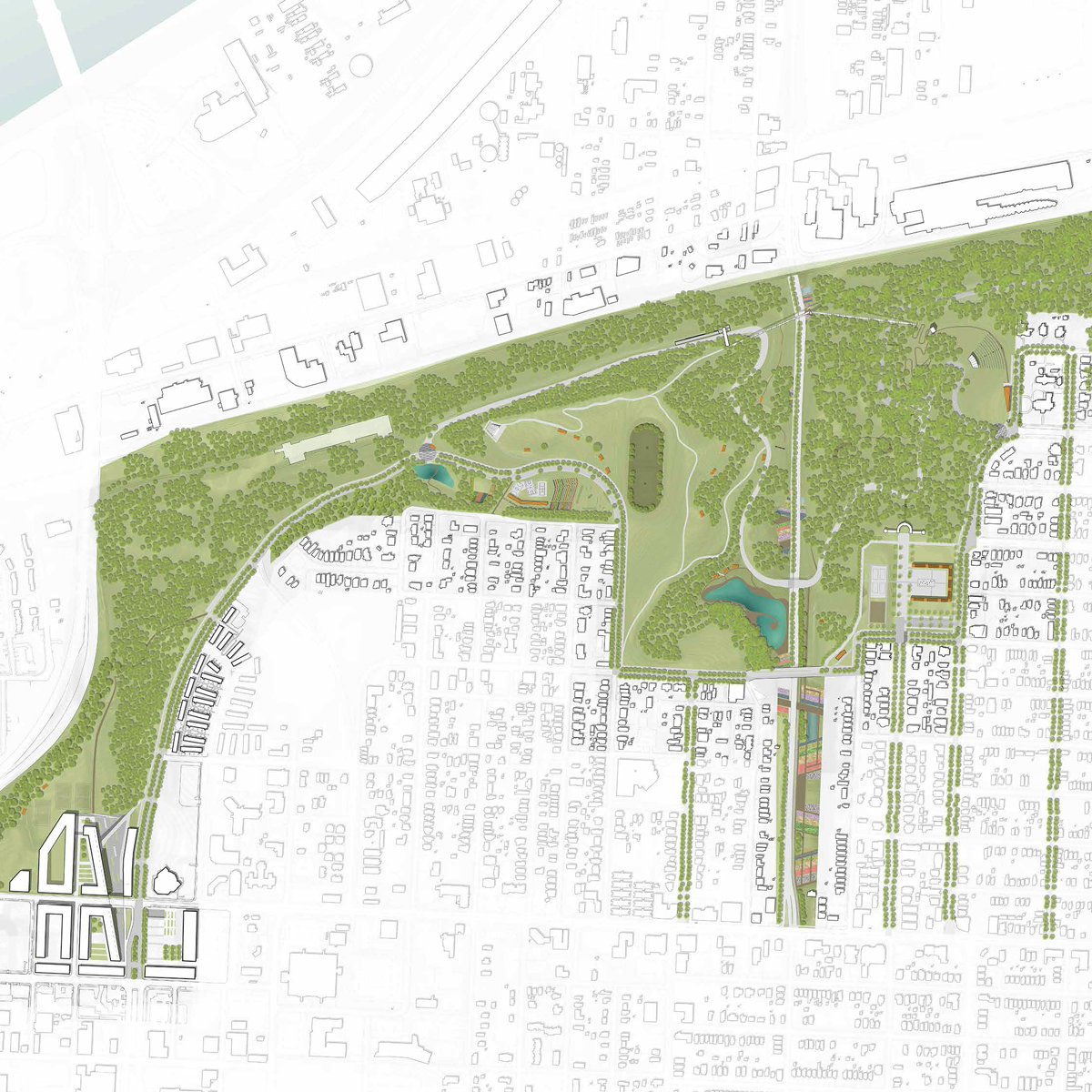 2014-2015 Studio Project: Kessler Park Vision Study