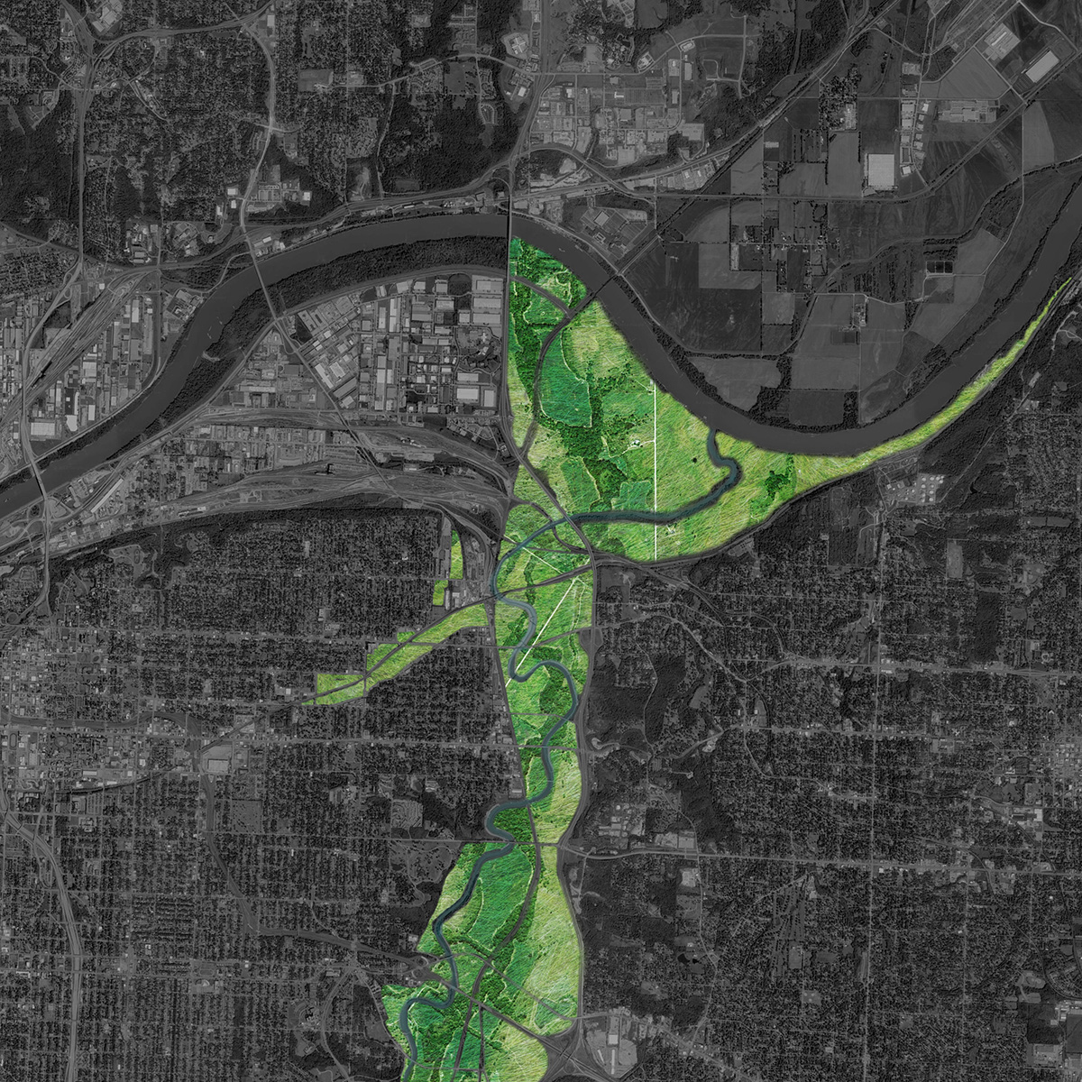2012-2013 Studio project: Independence avenue vision study