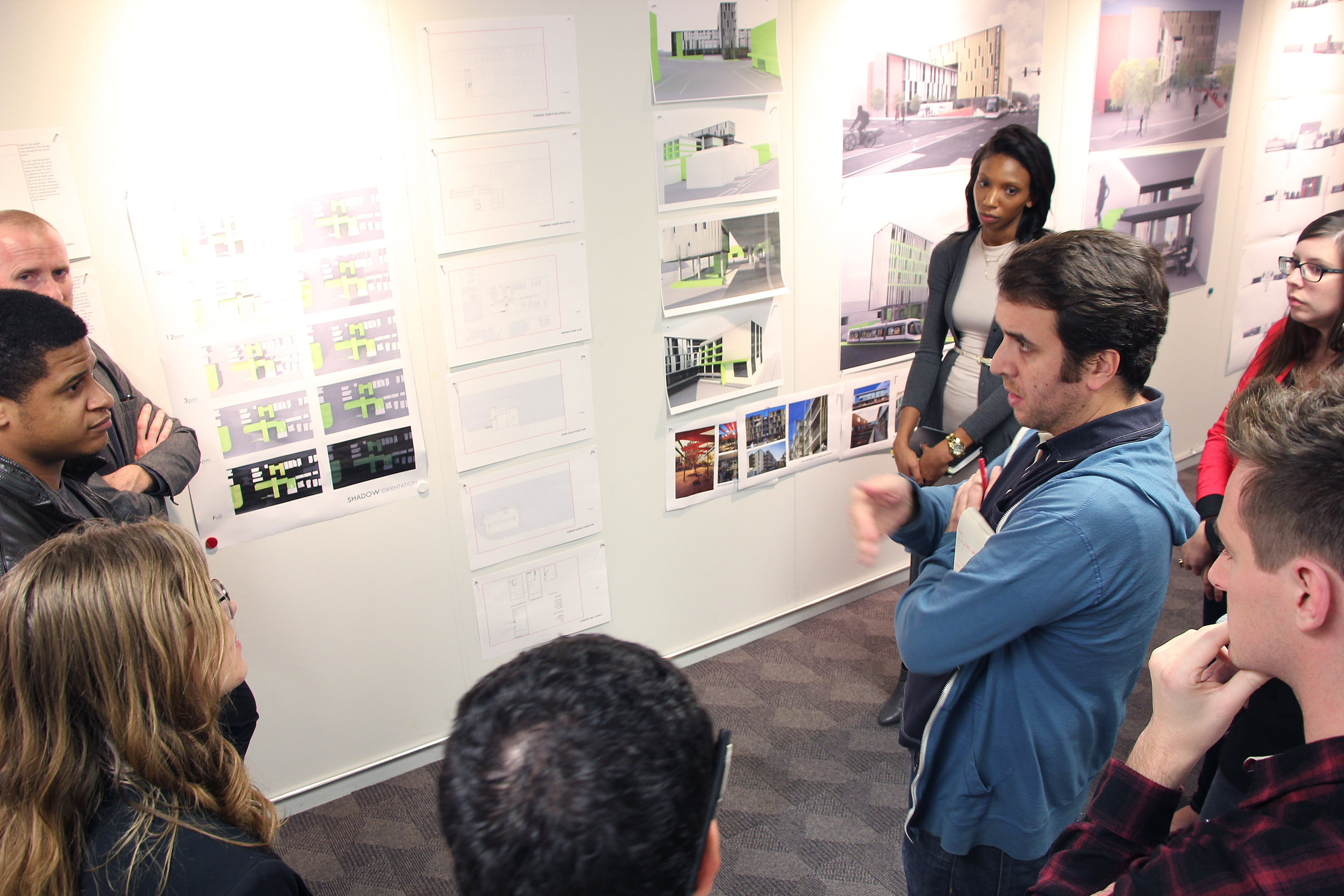 Critiques are helpful not only for the students who designed the project, but also for students who are not designing the project, as they can learn about successful moves and areas of improvement that may be indirectly relevant to their current or future designs.