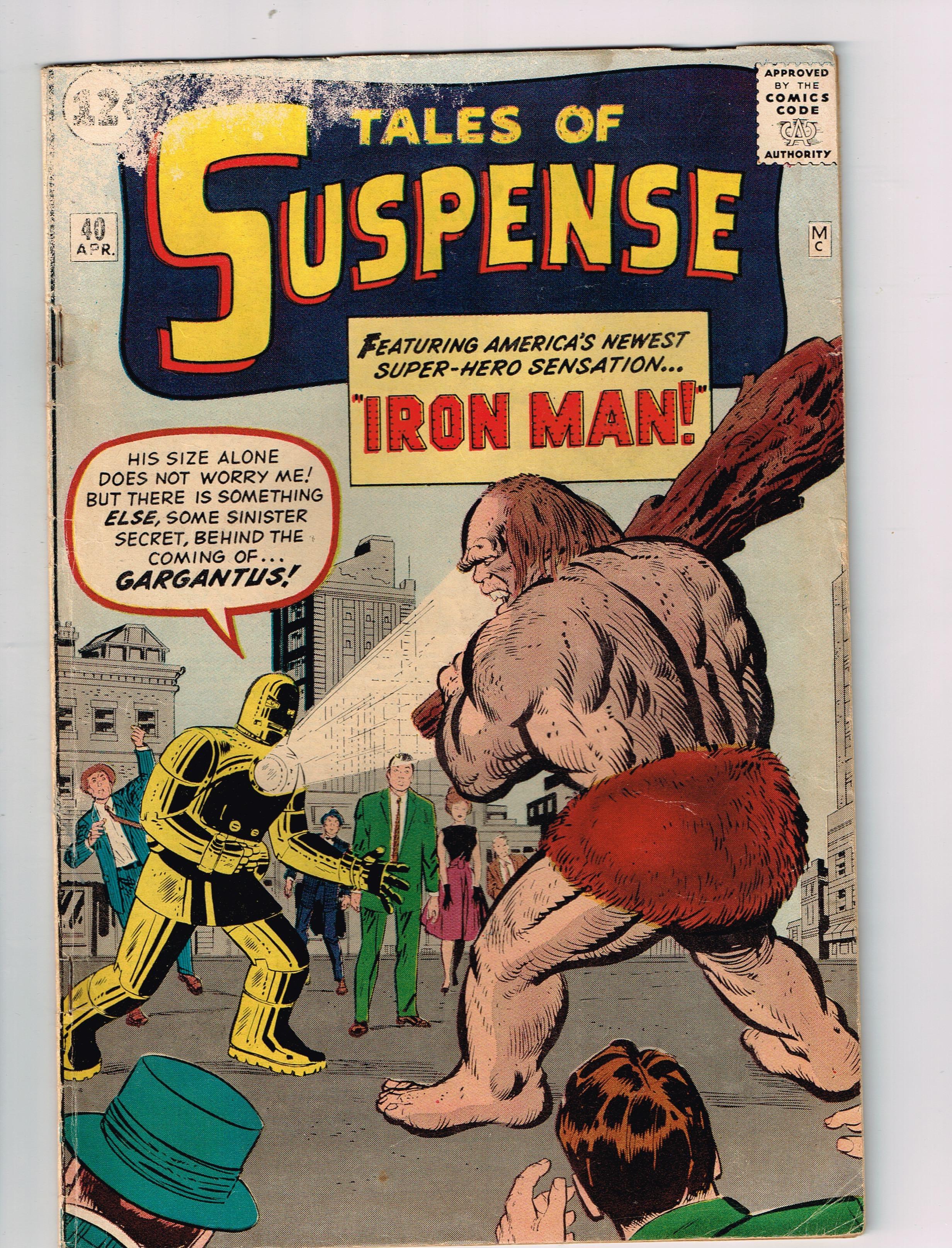 Tales Of Suspense # 40