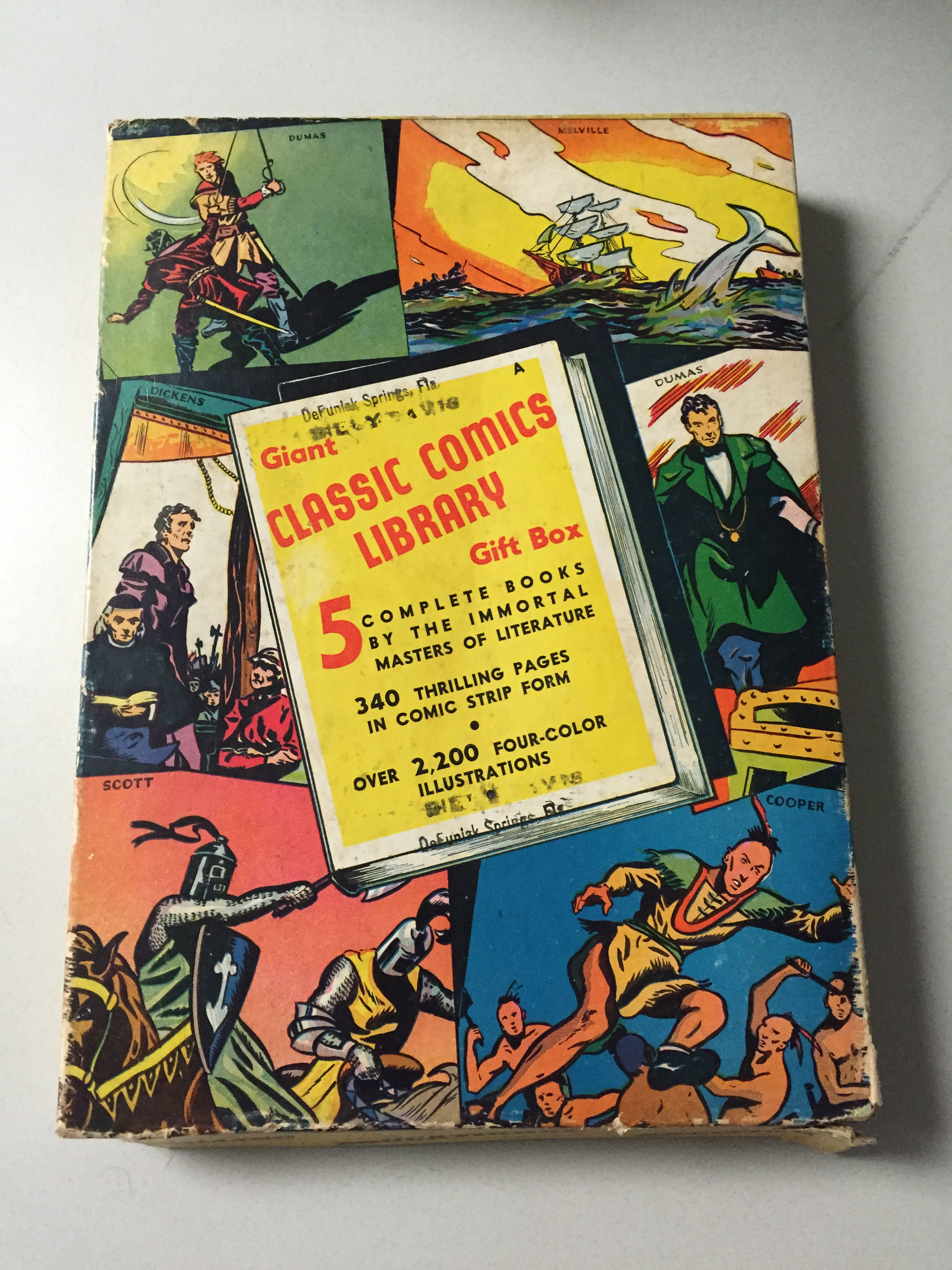 Classic Comics Library Gift Box