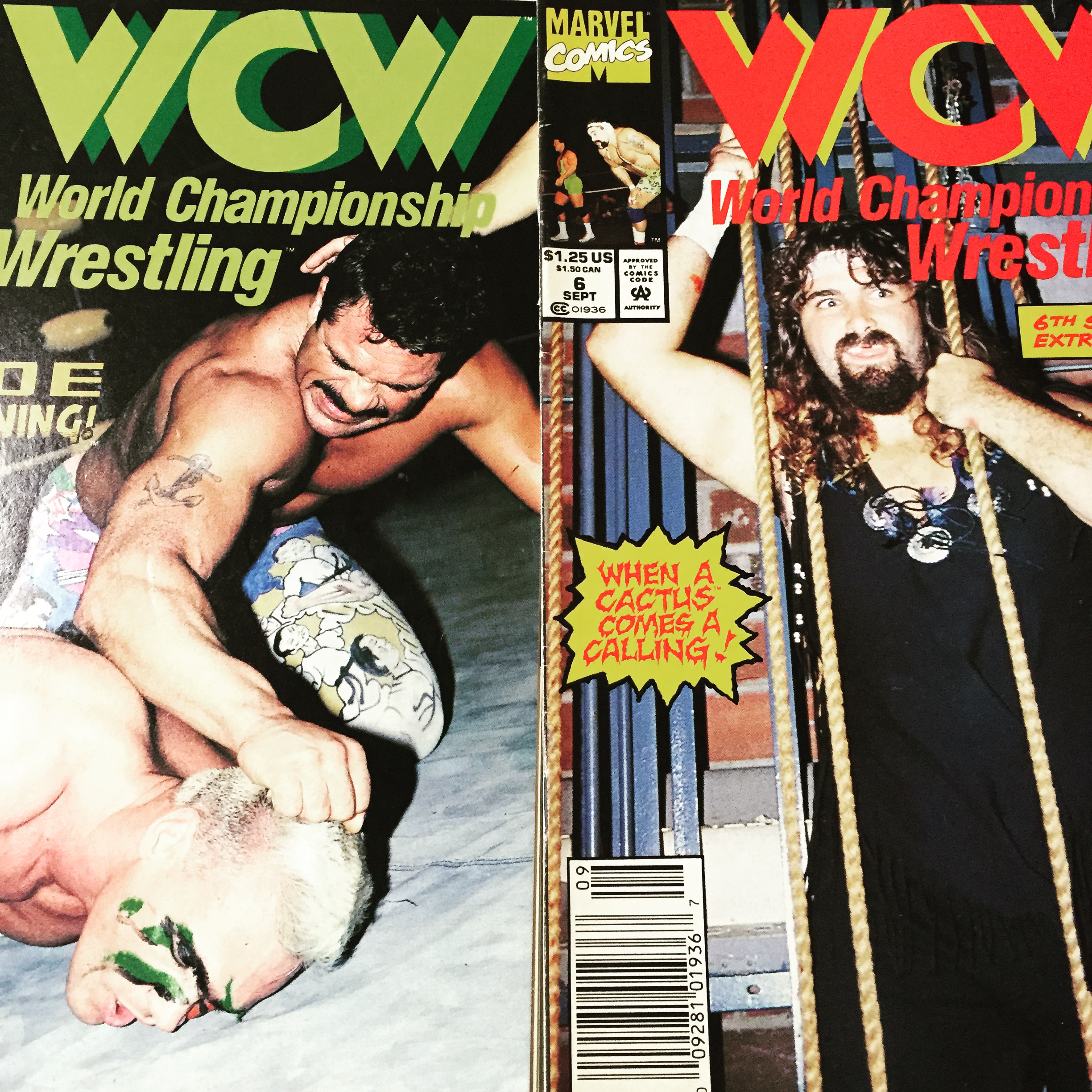 Who doesn't love some classic defunct wrestling company comic books!