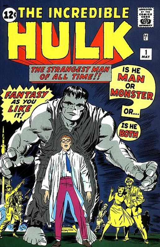 This isn't our Hulk # 1, just a google image stand-in. I'll have to grab a scan & upload it later.