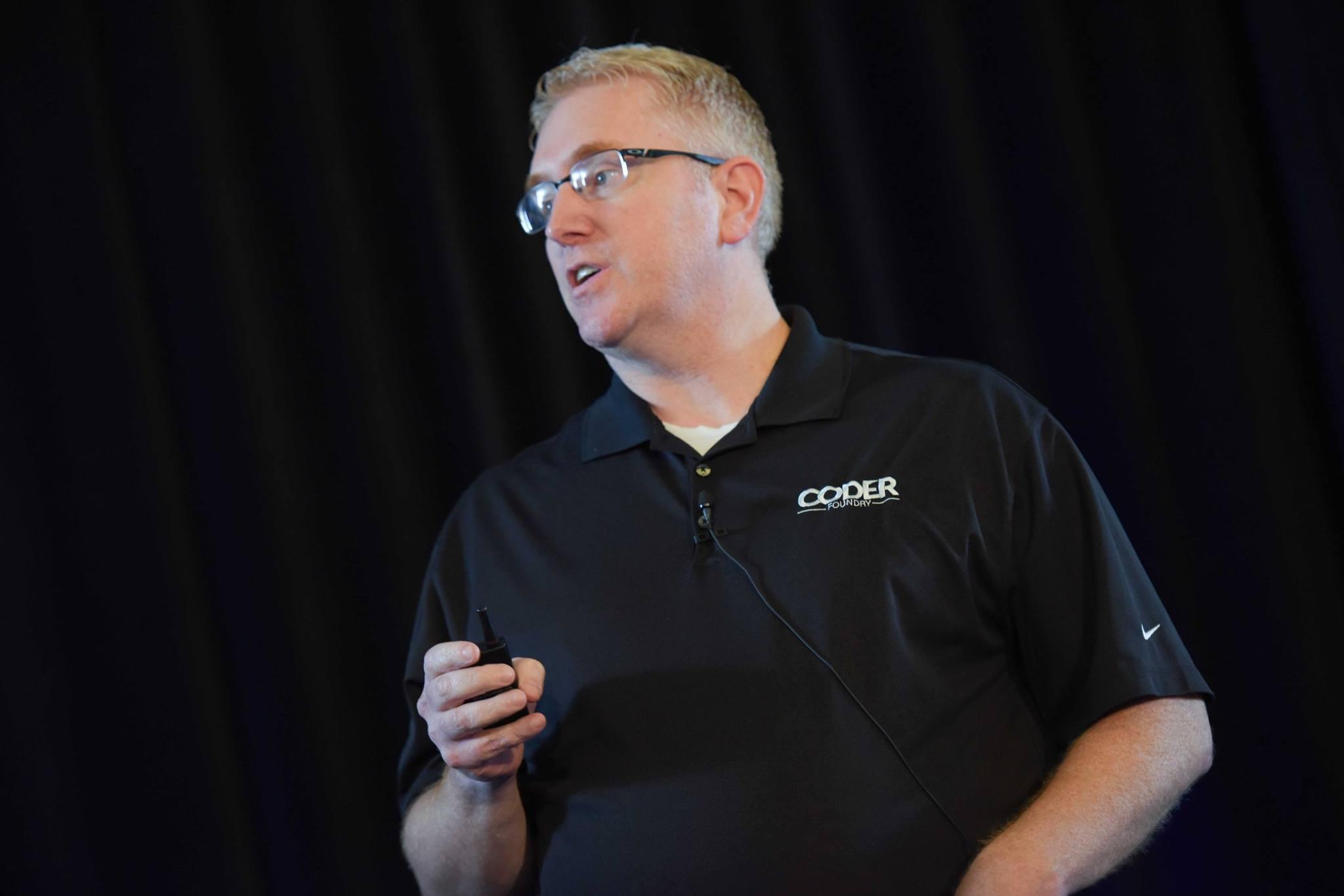 Bobby Davis, founder of Coder Foundry