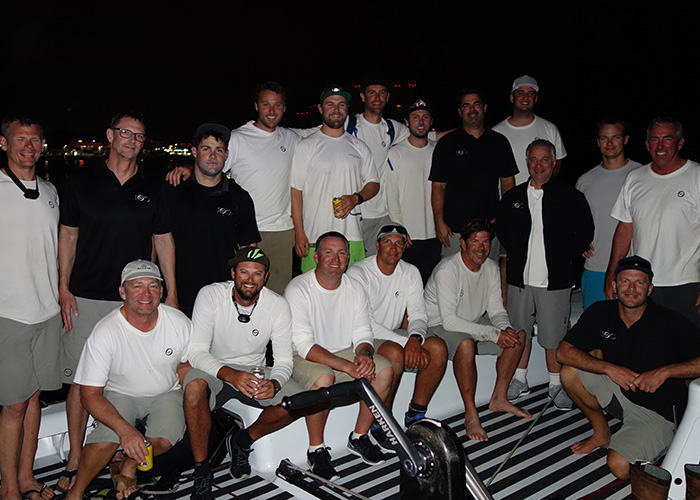 Manouch Moshayedi and the crew of RIO