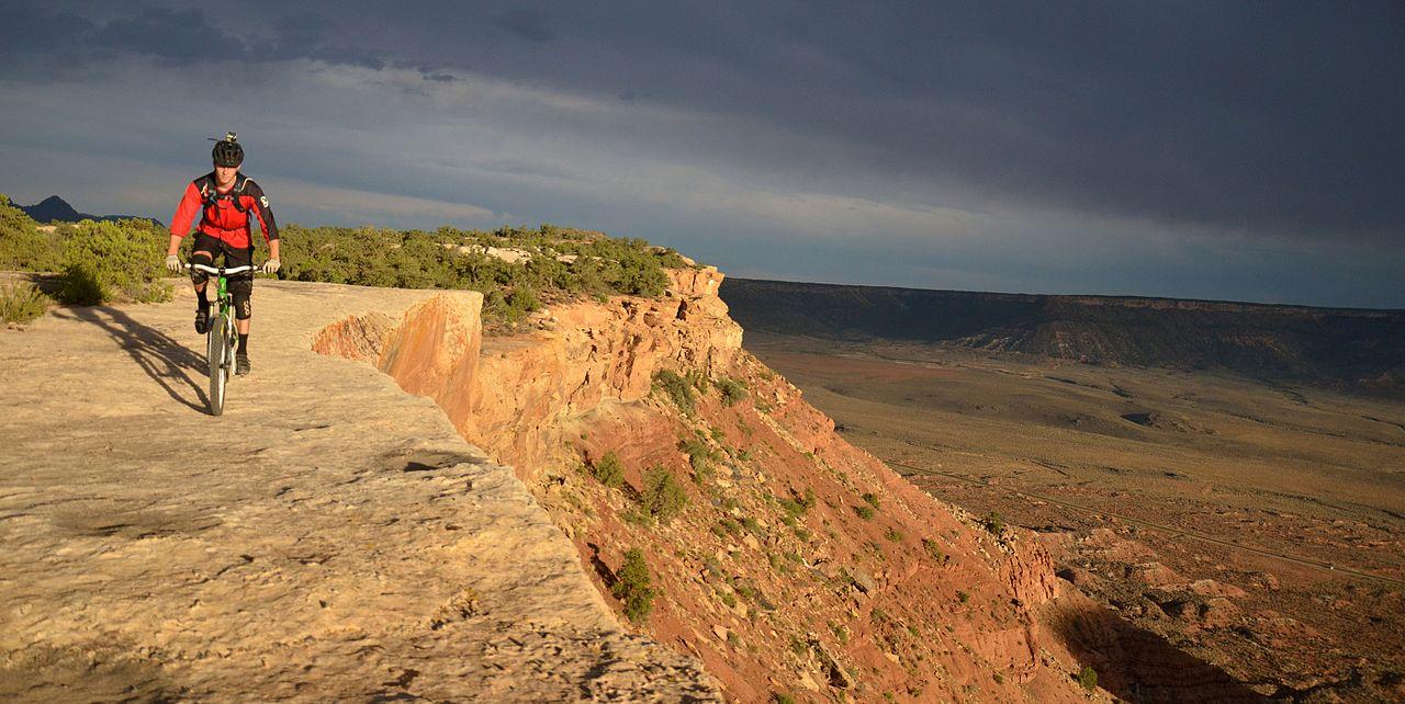 BLM_Winter_Bucket_List_-19-_Gooseberry_Mesa_National_Recreation_Trail,_Utah,_for_Challenging_Biking_Terrain_and_Spectacular_Views_(16089828849).jpg