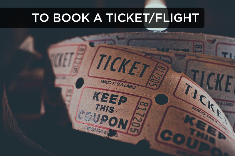 This idiomatic phrase refers to reserving or buying tickets in advance.