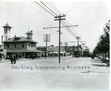 Cocoa House was the first center for community life. ca. 1915