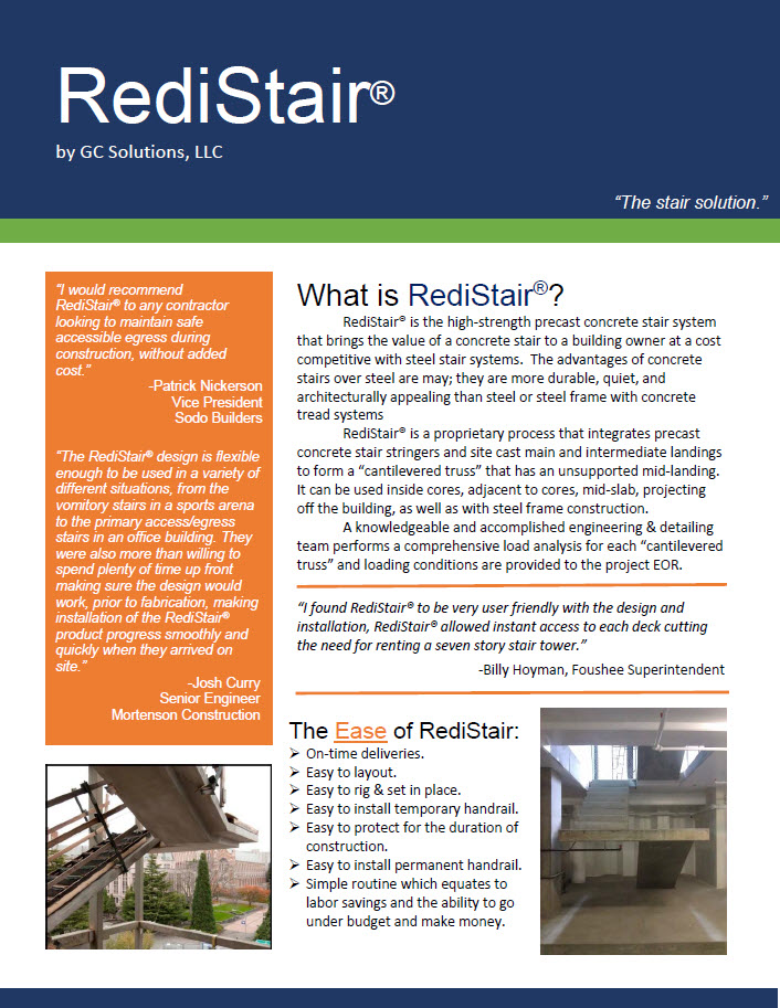 Click Here to Download the RediStair® Digital Brochure