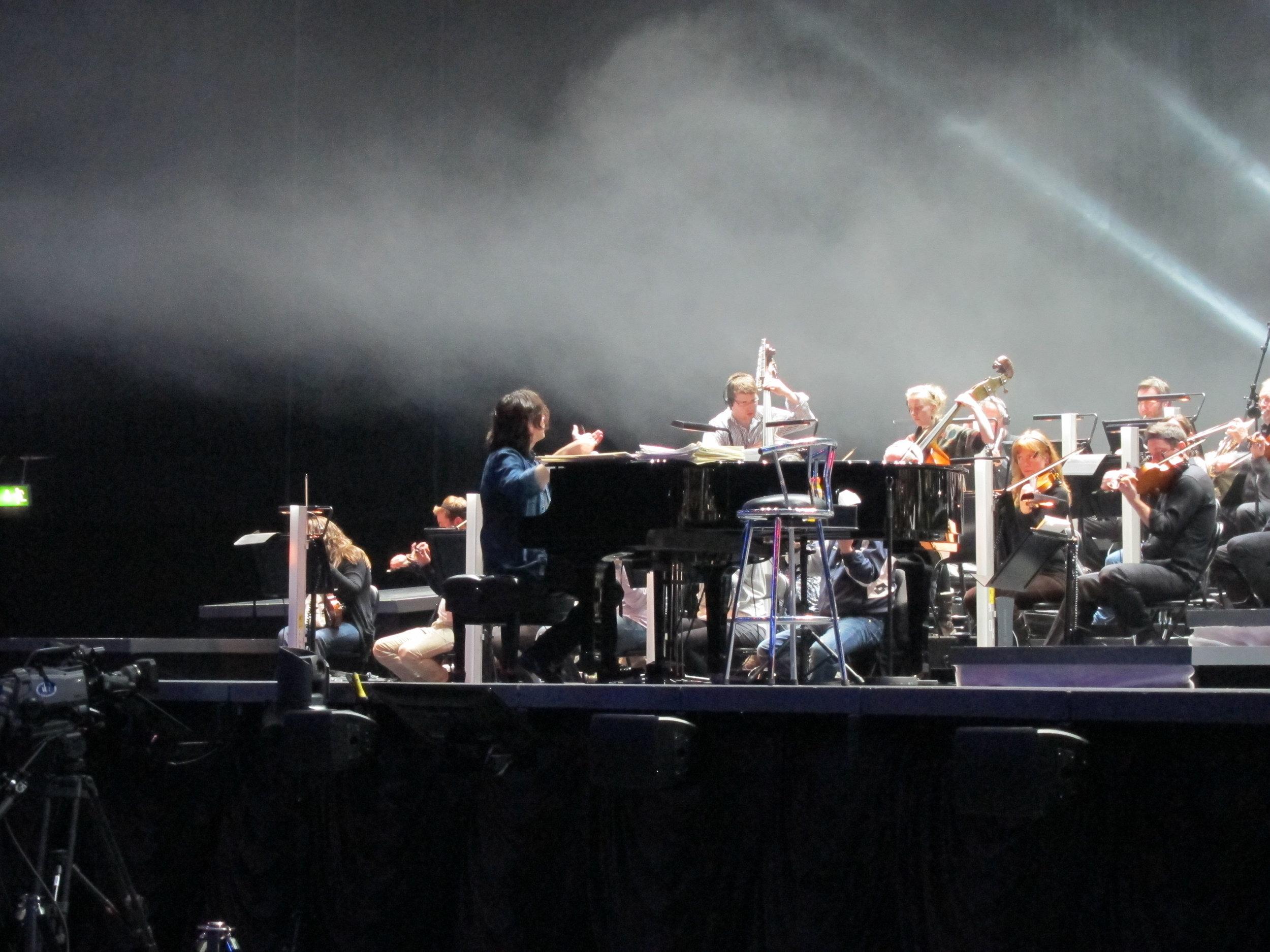 George Michael - Symphonica (Soundcheck)