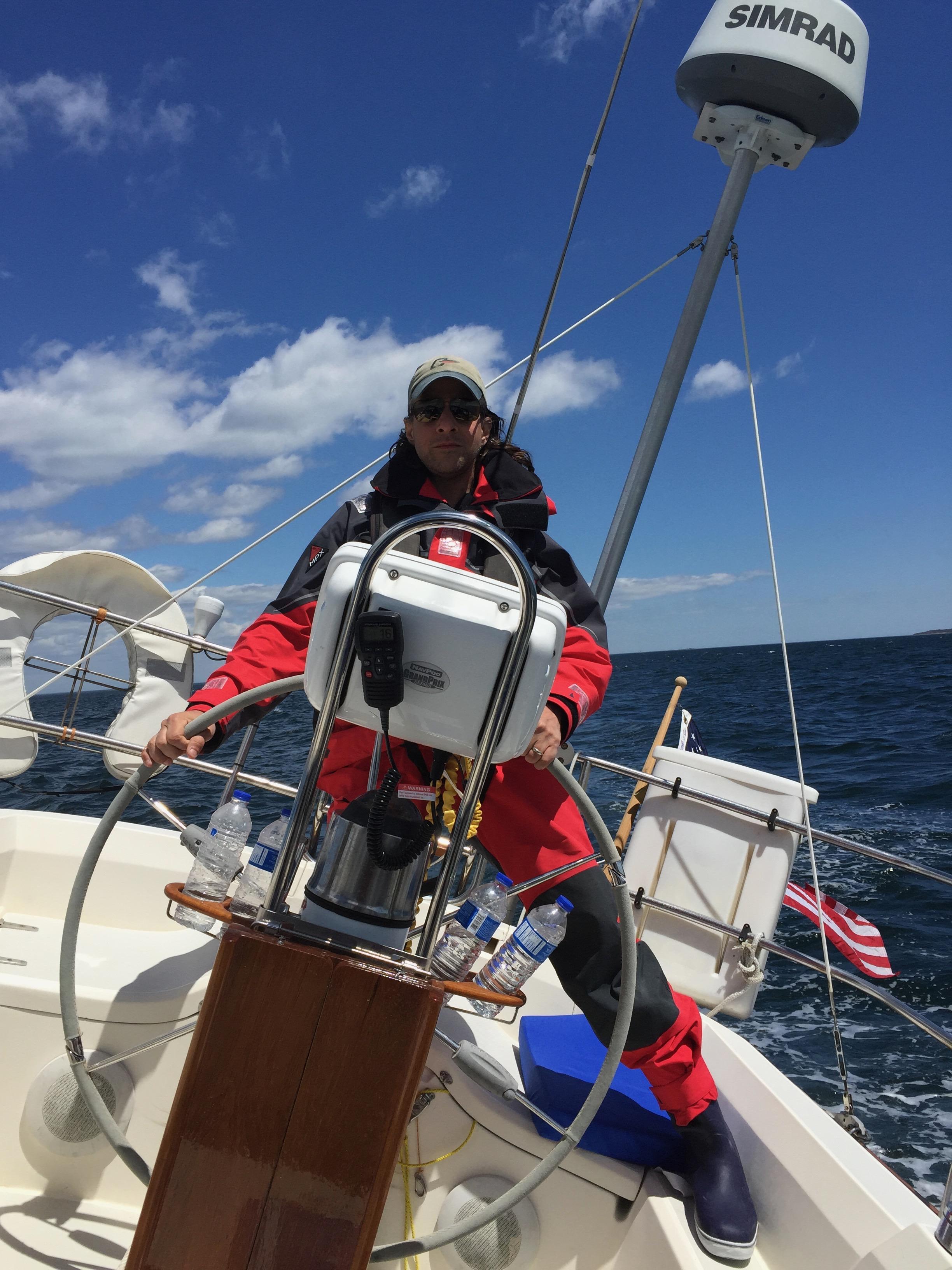 Sail delivery - Sabre 38 mk II
