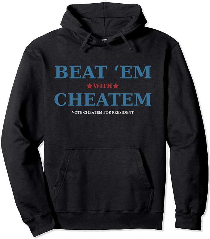 Beat 'Em With Cheatem - Color(s): Black, Heather GreyDesign © 2018 by C. K. Conners