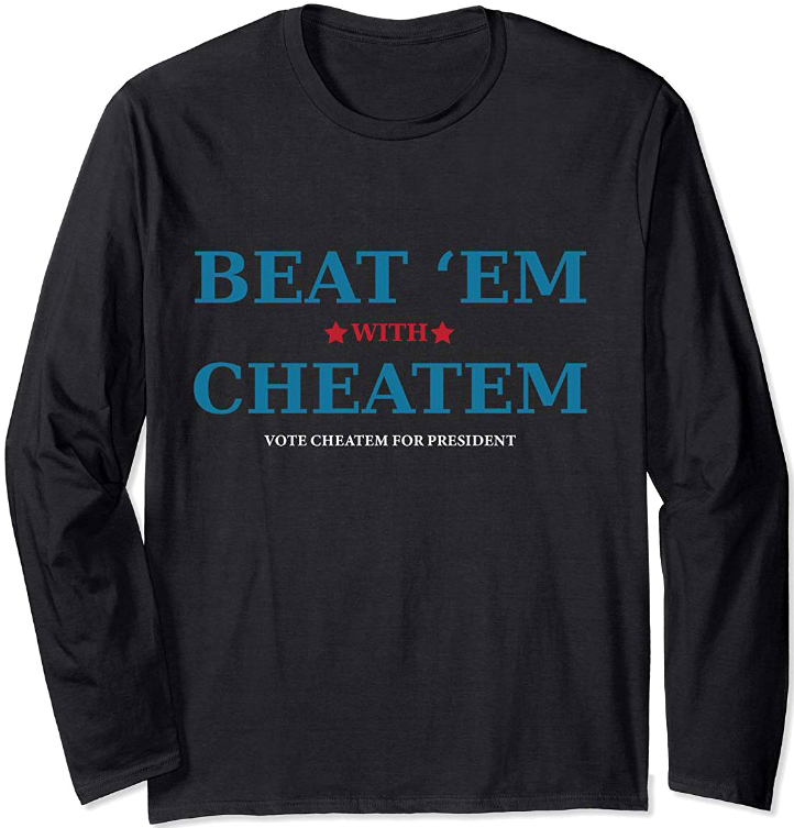 Beat 'Em With Cheatem - Color(s): BlackDesign © 2018 by C. K. Conners