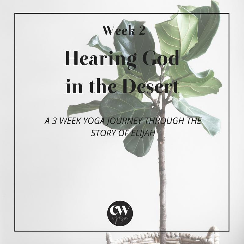 Hearing God Series Week 2 Caroline Williams Yoga