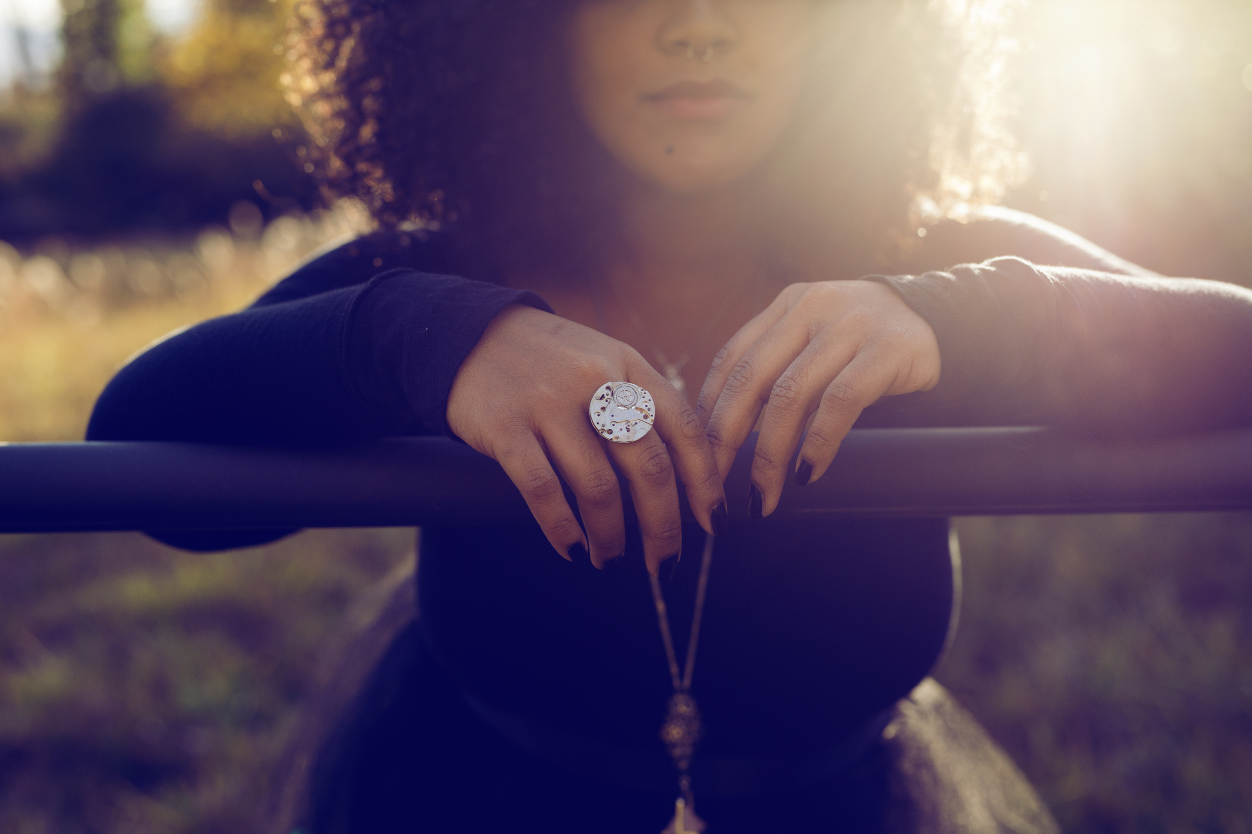 Featured: Delay (ring) || Metal & Roses (necklace)