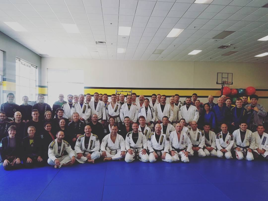 Marcelo Garcia 5x World - 4x ADCC Champ packs the house at Team Junqueira / Marcelo Garcia Pittsburgh Association this past Saturday!