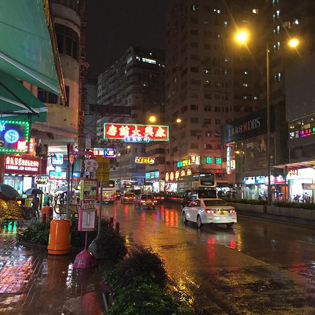 The #lights of #kowloon #hongkong #city #night #nofilter #asia #neon #signs #travel #nice