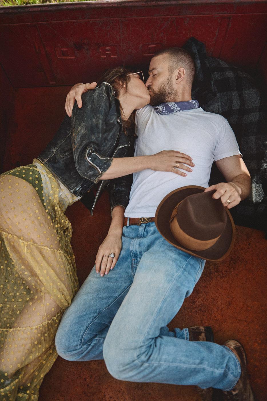 Jessica Biel & Justin Timberlake, Man of the Woods Album, February 2, 2018.