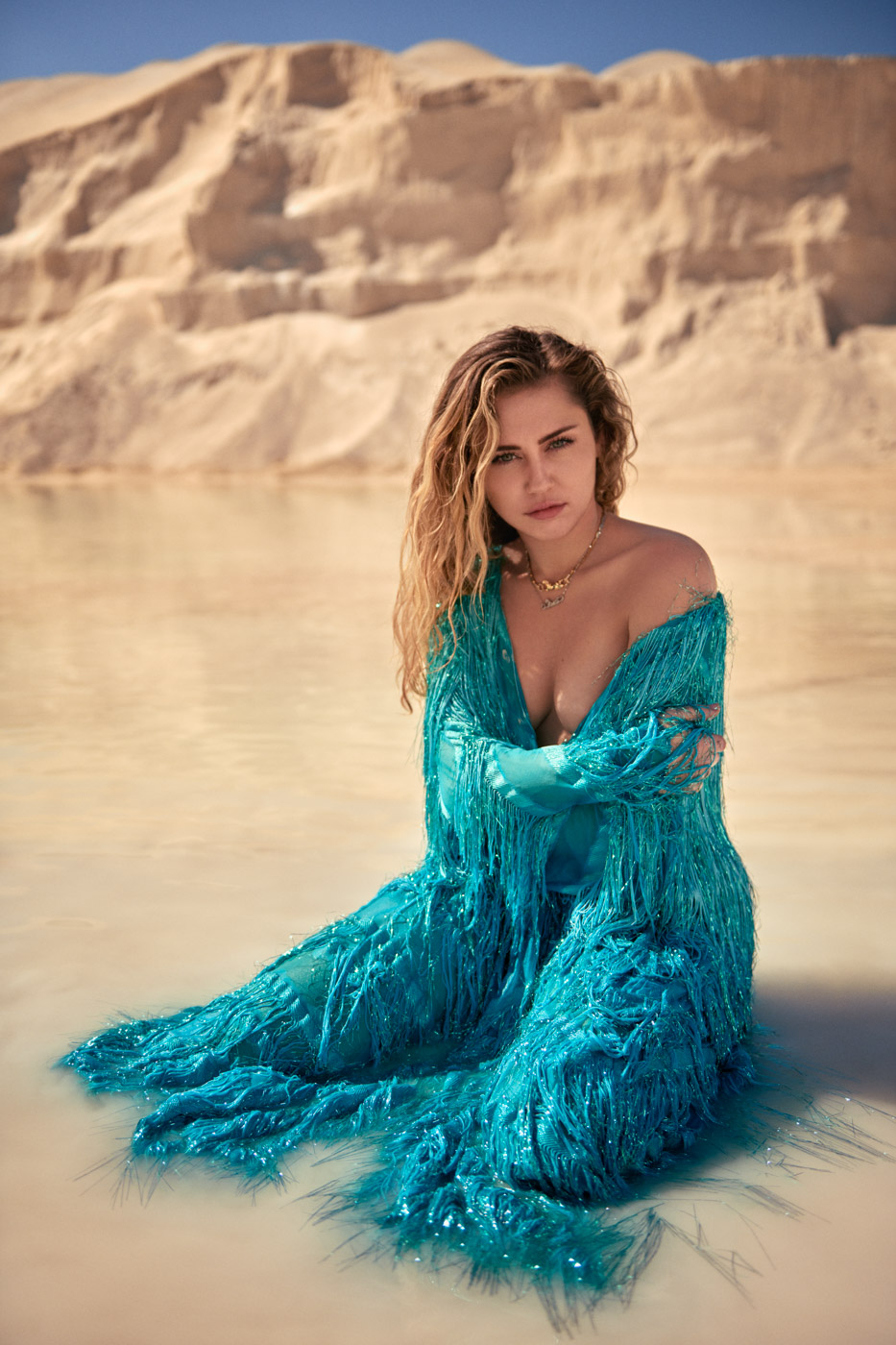 Miley Cyrus, Vanity Fair, Spring Style Issue, February 21, 2019.