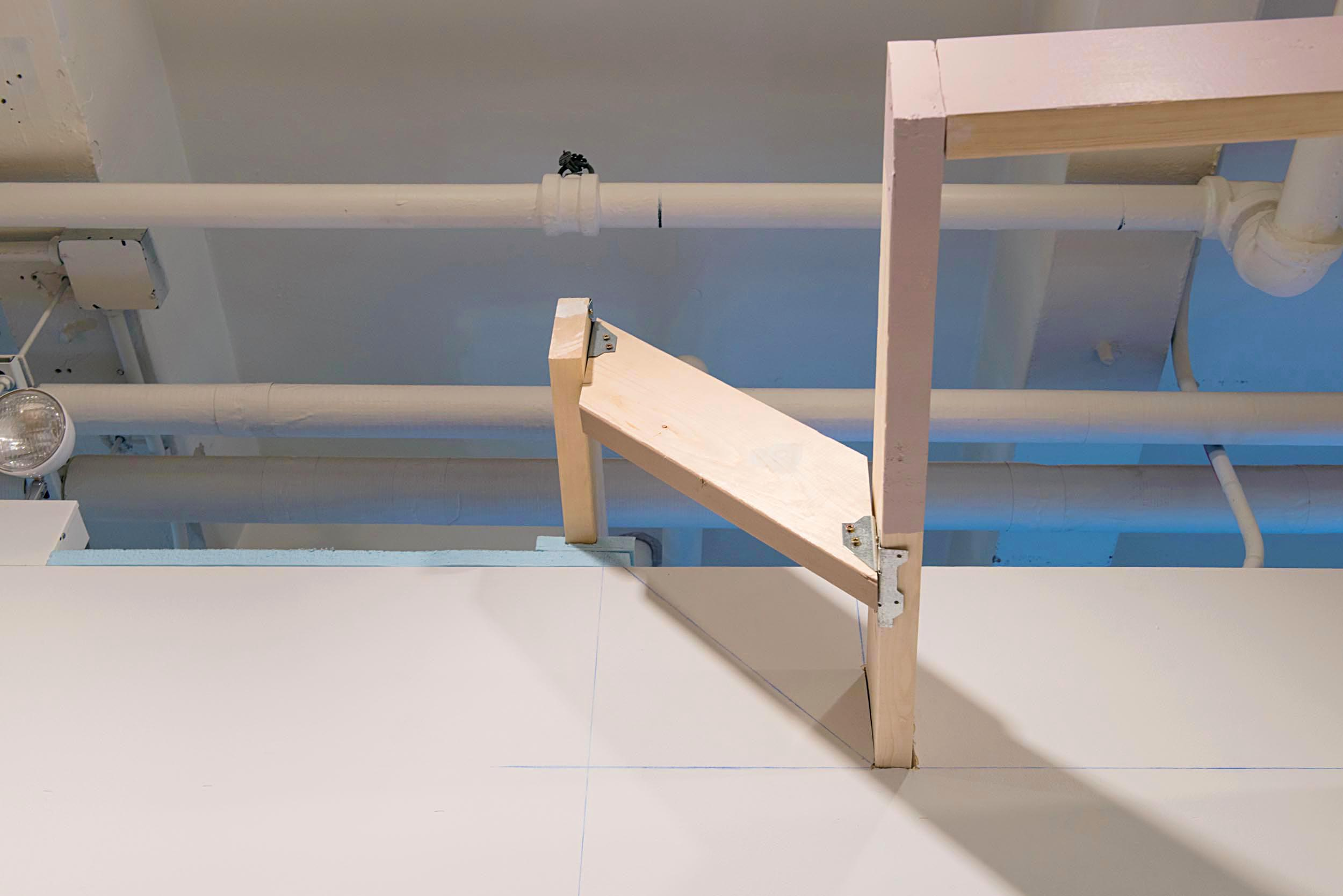 Isogloss  (lumber, deck boards, foam board insulation, rope, string, house paint, brackets, wooden peg, screws, ready patch, clamp lights, 2016)