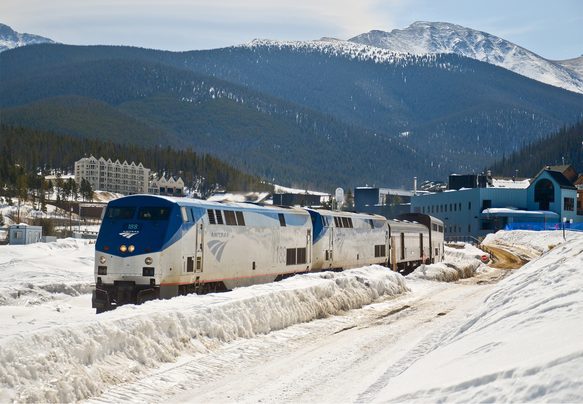 Ski Train to Winter Park: January 5th - March 25th in its second season in 2018