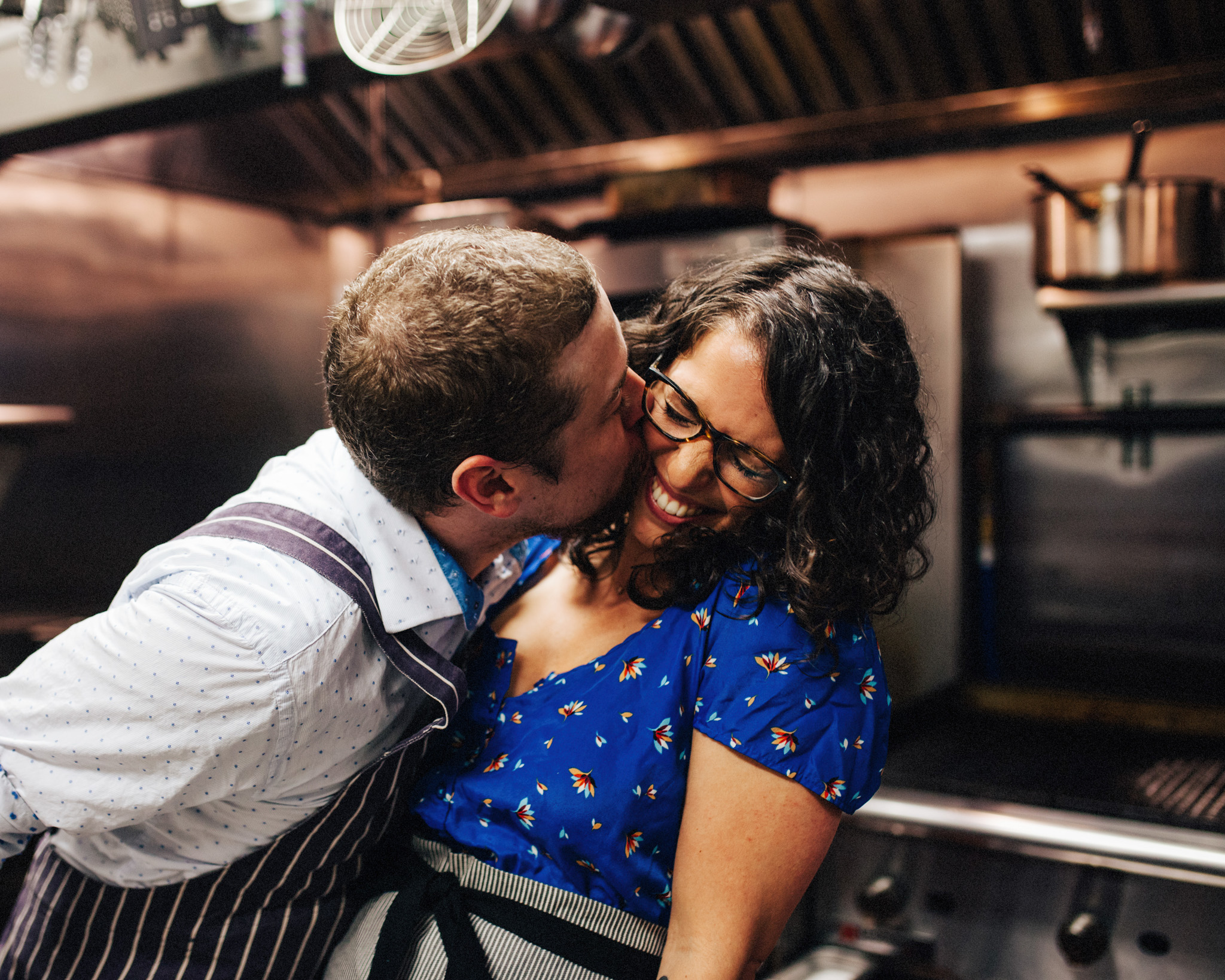 Cooking Themed Engagement Session | NYC Engagement
