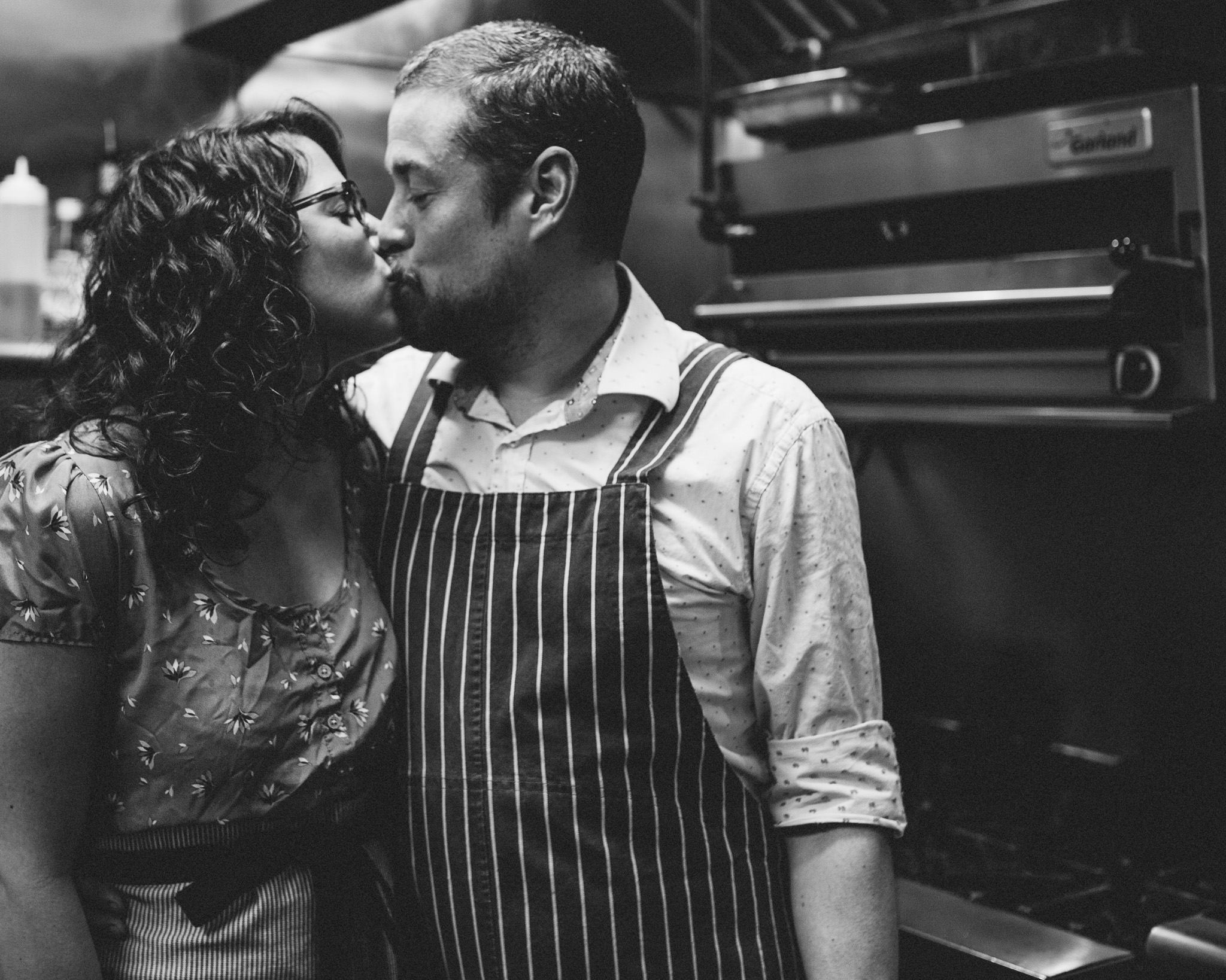 Cooking Themed Engagement Session   NYC Engagement