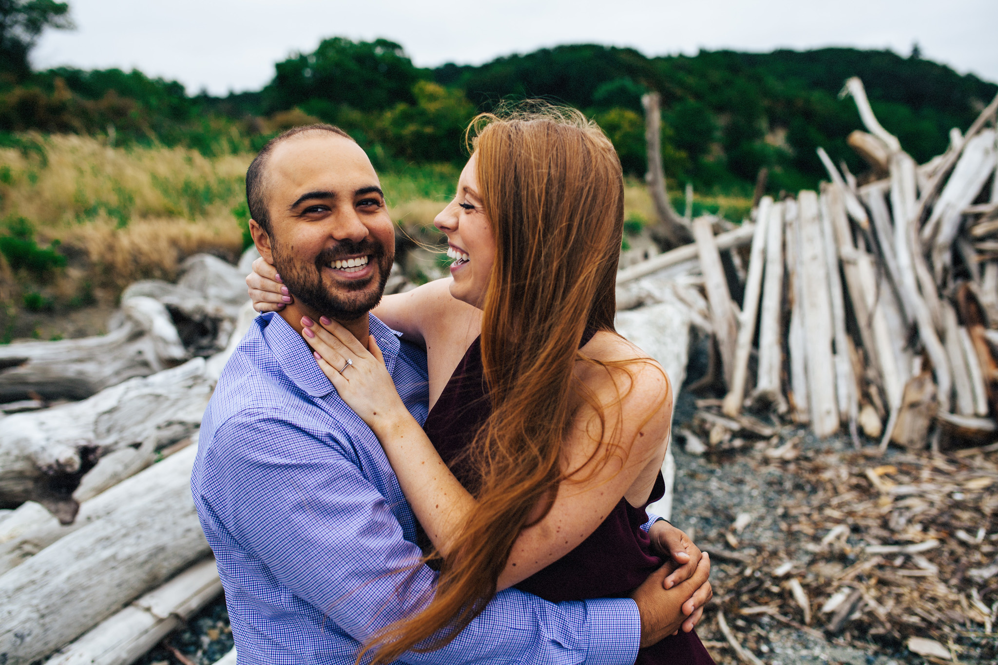Discovery Park Engagement Shoot | Seattle, WA Engagement