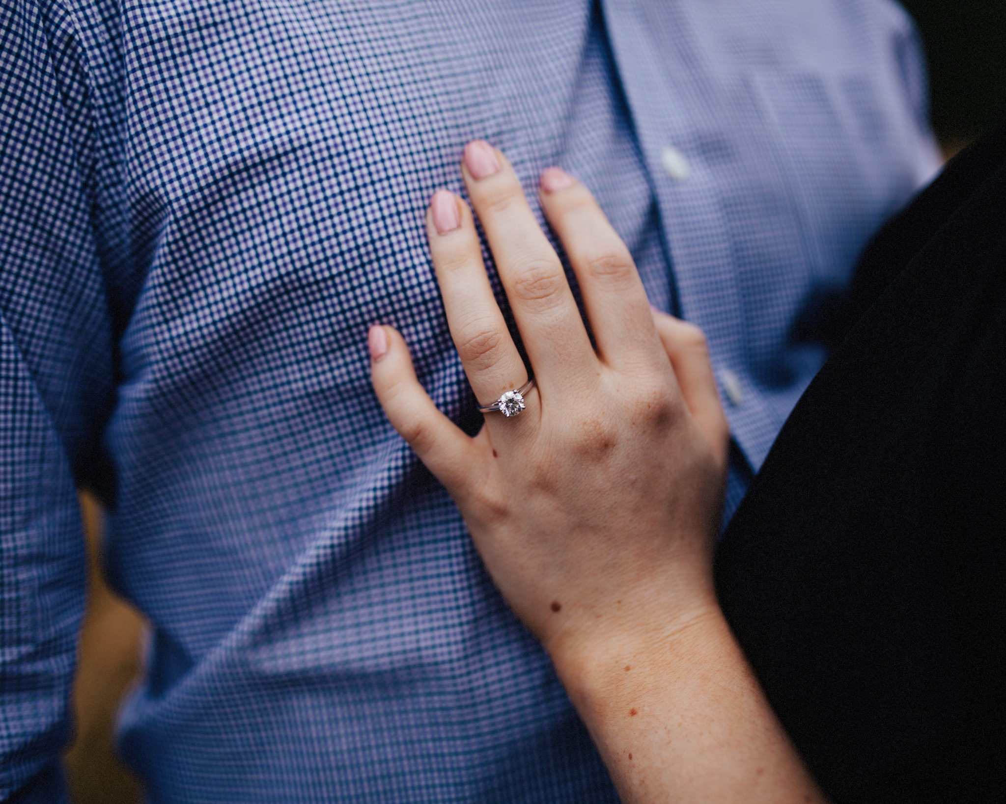 Discovery Park Engagement | Diamond Engagement Ring