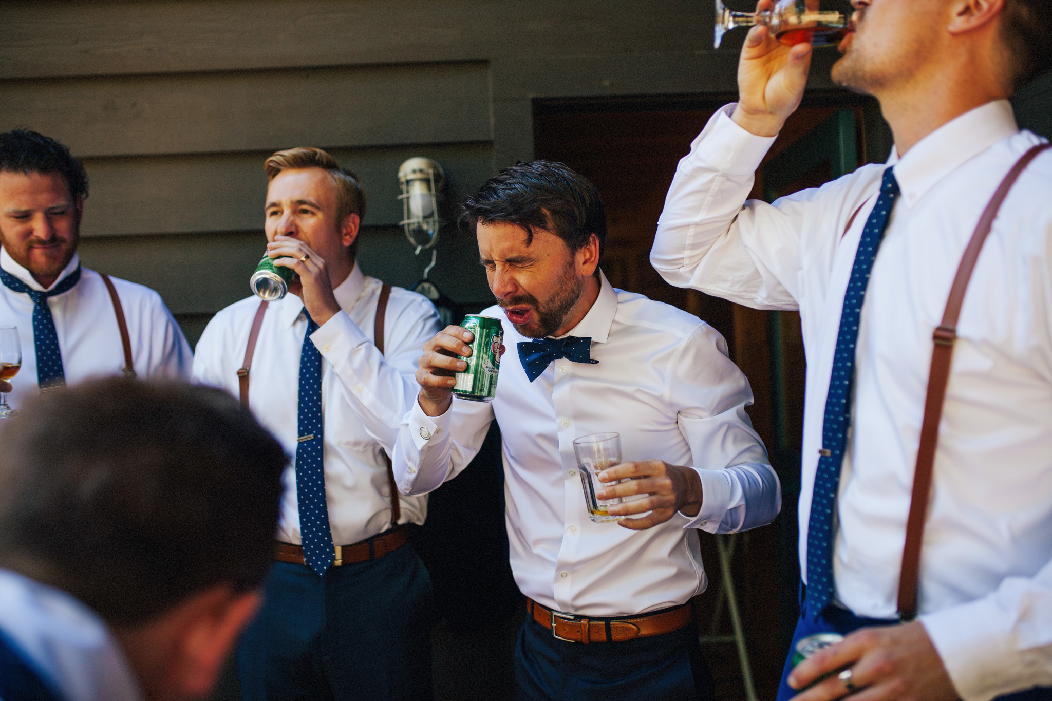 Groomsmen Getting Ready | Wedding Day Prep