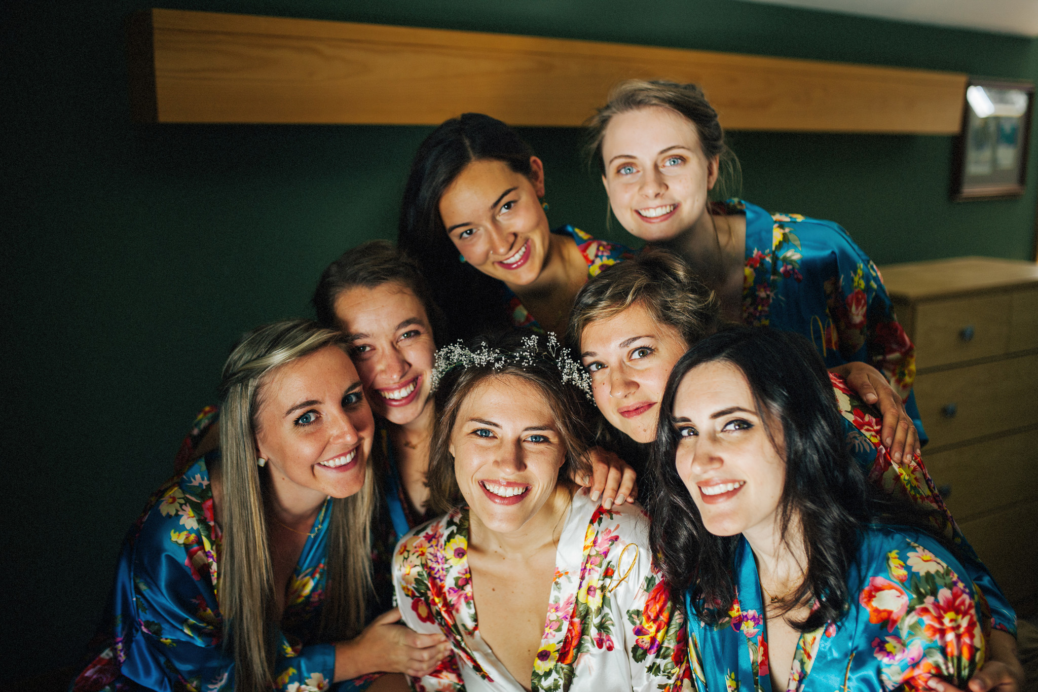Bridal Party | Getting Ready