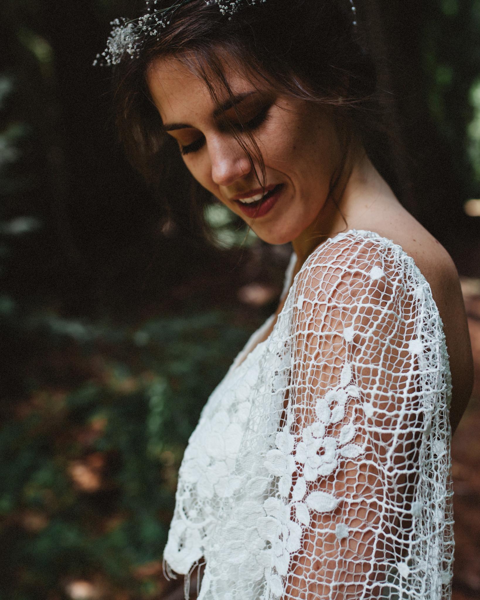 Bridal Portrait | Lace Wedding Dress | Grace Loves Lace Gown