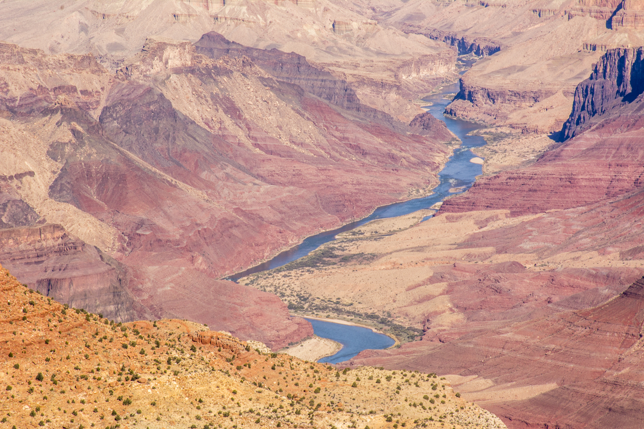 Grand Canyon, Colorado River from the South Rim
