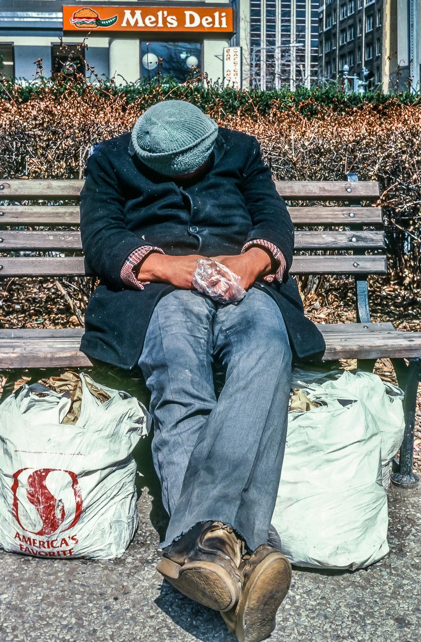 Traveling Man, Three S-Bags Full, Washington, D.C.