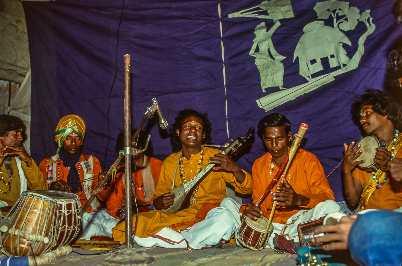 Lead Singer Vasudev Enchants the Villagers