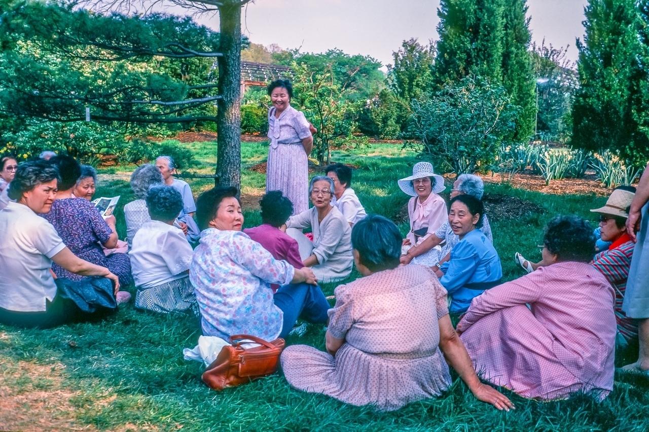 Japanese Women, Flowers from Japan