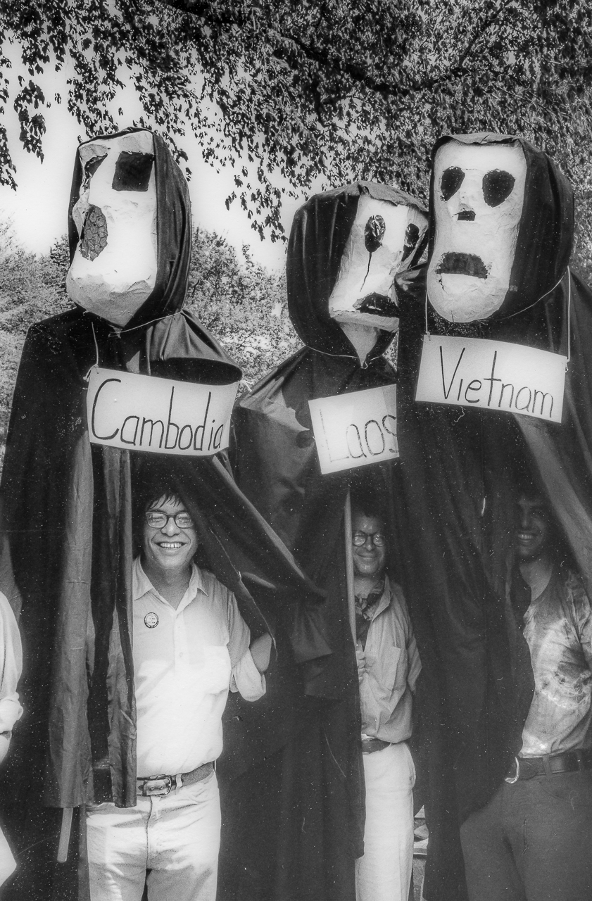 Three Antiwar Activist Brothers Unmask