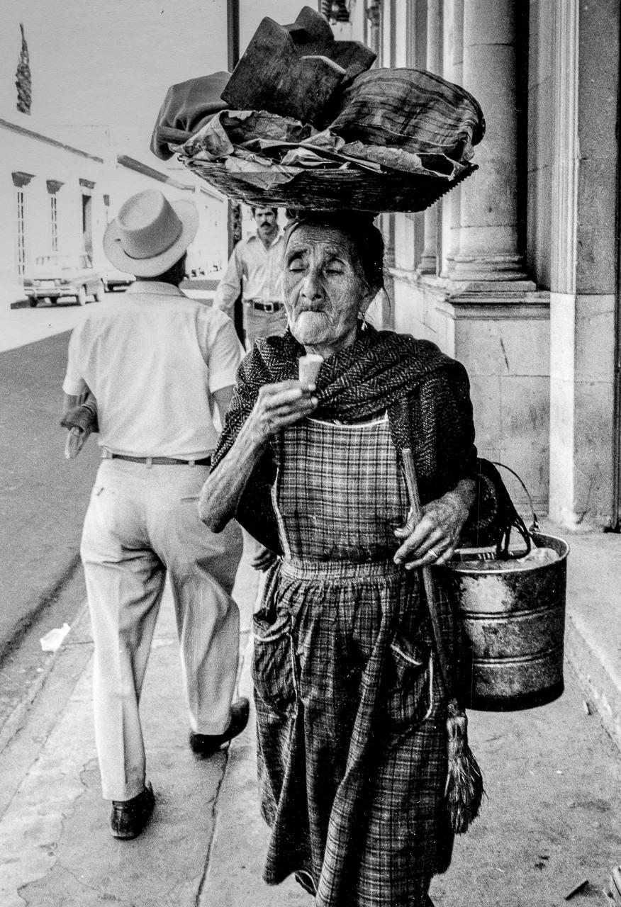 A Well-Earned Ice Cream Treat, Oaxaca, Mexico
