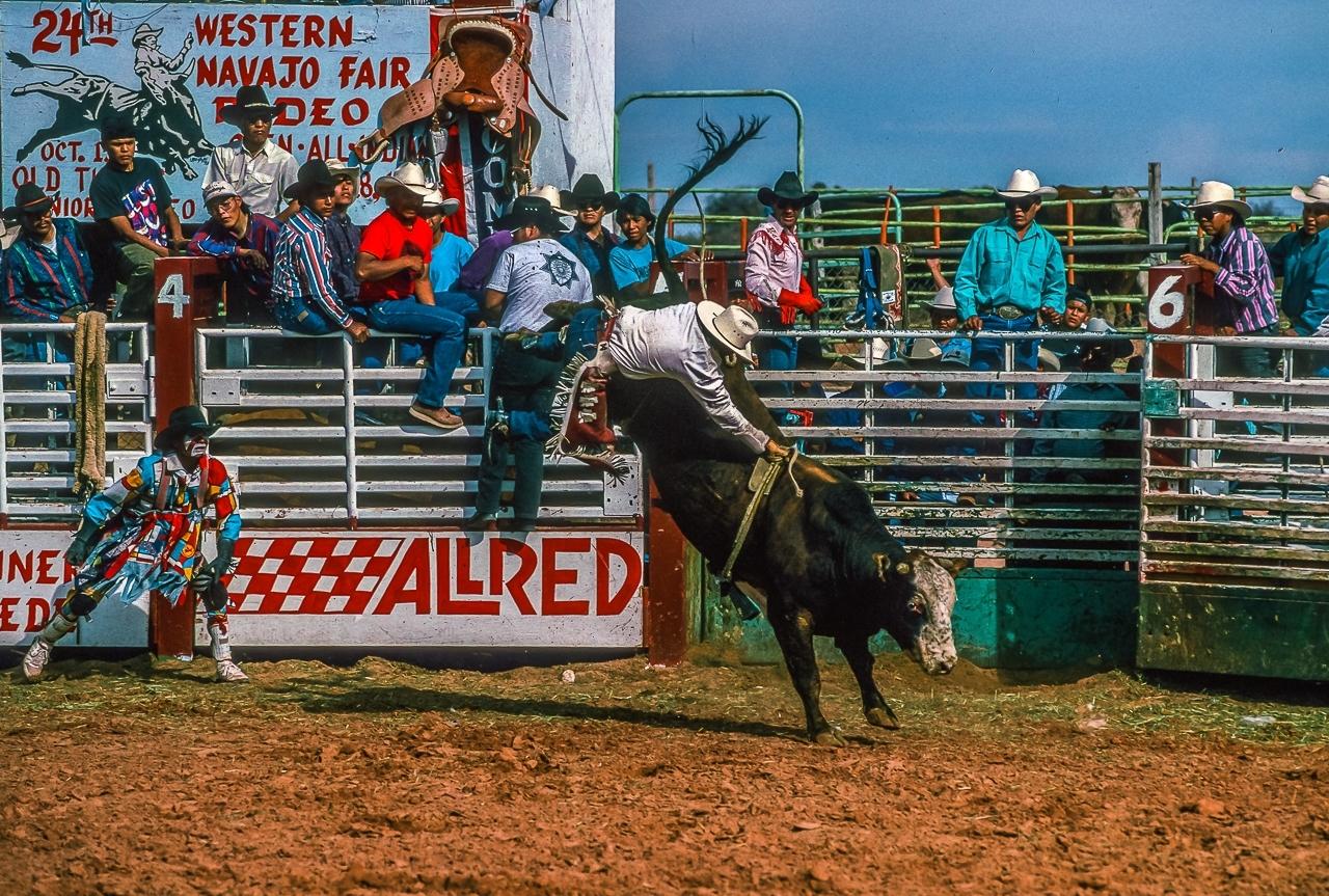 Navajo Bullriders  Demand And Get Wild Action On Rank Bulls