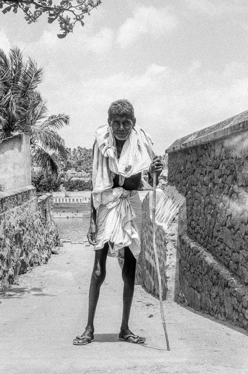 An Elder Fresh From His Public Bath: Father India