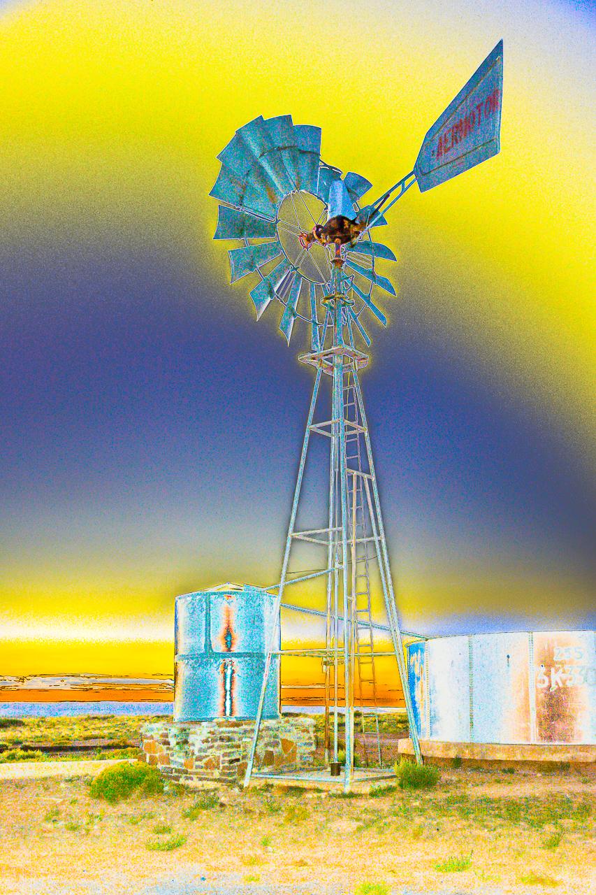 Windmill Power, Coalmine Canyon, Arizona, Navajo Nation