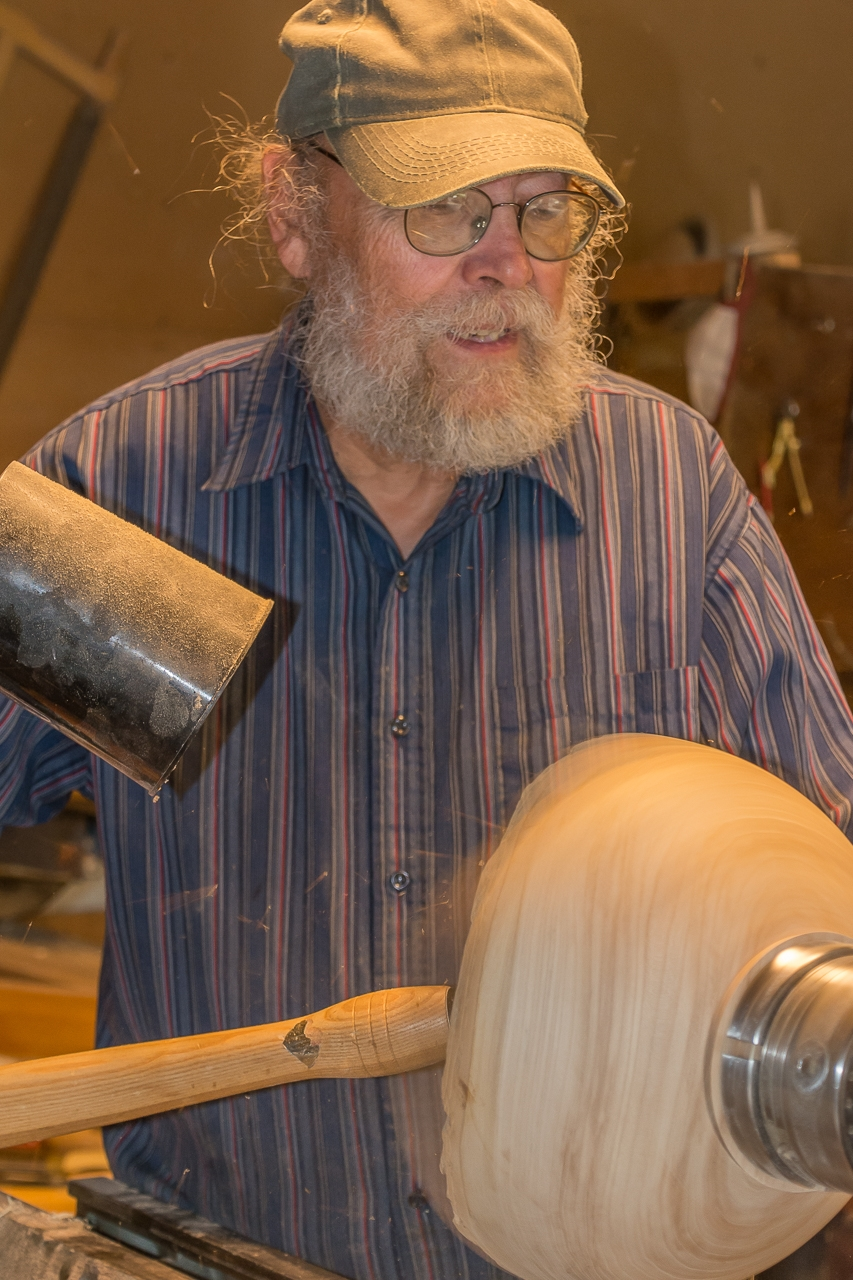 Lonnie Gramse, Master Carver and Craftsman