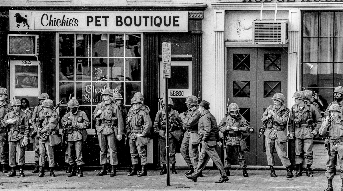 CHICHI'S PET BOUTIQUE, THE NATIONAL GUARD & 3 CIVILIANS, Washington, D,C. (1971)