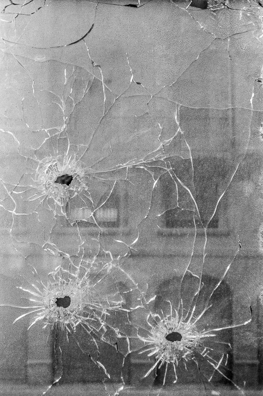 TERRORIST BULLETS FIRED IN WINDOW OF BASQUE HUMAN RIGHTS LAWYER (1975)