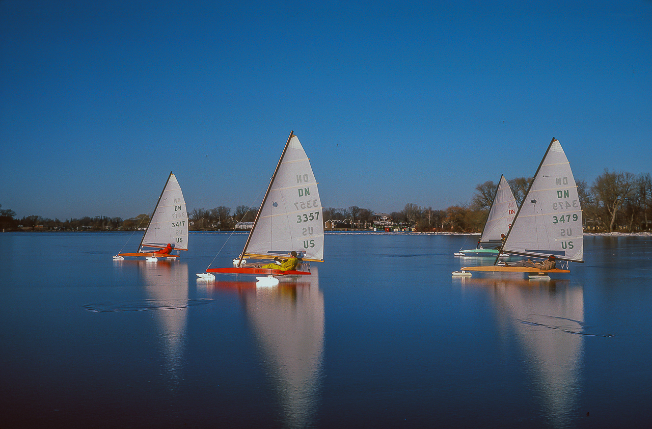 HARDWATER SAILORS ON GREEN LAKE (1985)