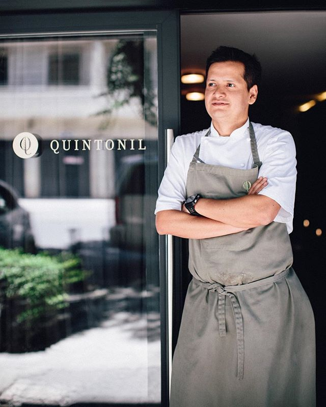 #quintonil feature up on the blog! Artful contemporary Mexican cuisine with a seasonal focus on vegetables and sustainable practices. Here a portrait of Chef Jorge Vallejo - kind and down to earth despite his success as one of the world's 50 best restaurants. Link in profile ✨ . . . . . . . #food #foodtravel #fooddestination #localfood #sustainablefood #foodphotography #foodblogger #culinarydestination #foodphotographer #lunching #eatingout #diningout #feast #foodplating #foodasart #nashvillefoodphotographer #nashvillephotographer #foodstylist #foodstyling #culturedfoods #mexicancuisine #gastronomiamexicana #mexicocity #worlds50bestrestaurants #sustainablefood #rooftopgarden #abroadtheyfeast #celebritychef #chefmexicano #chef