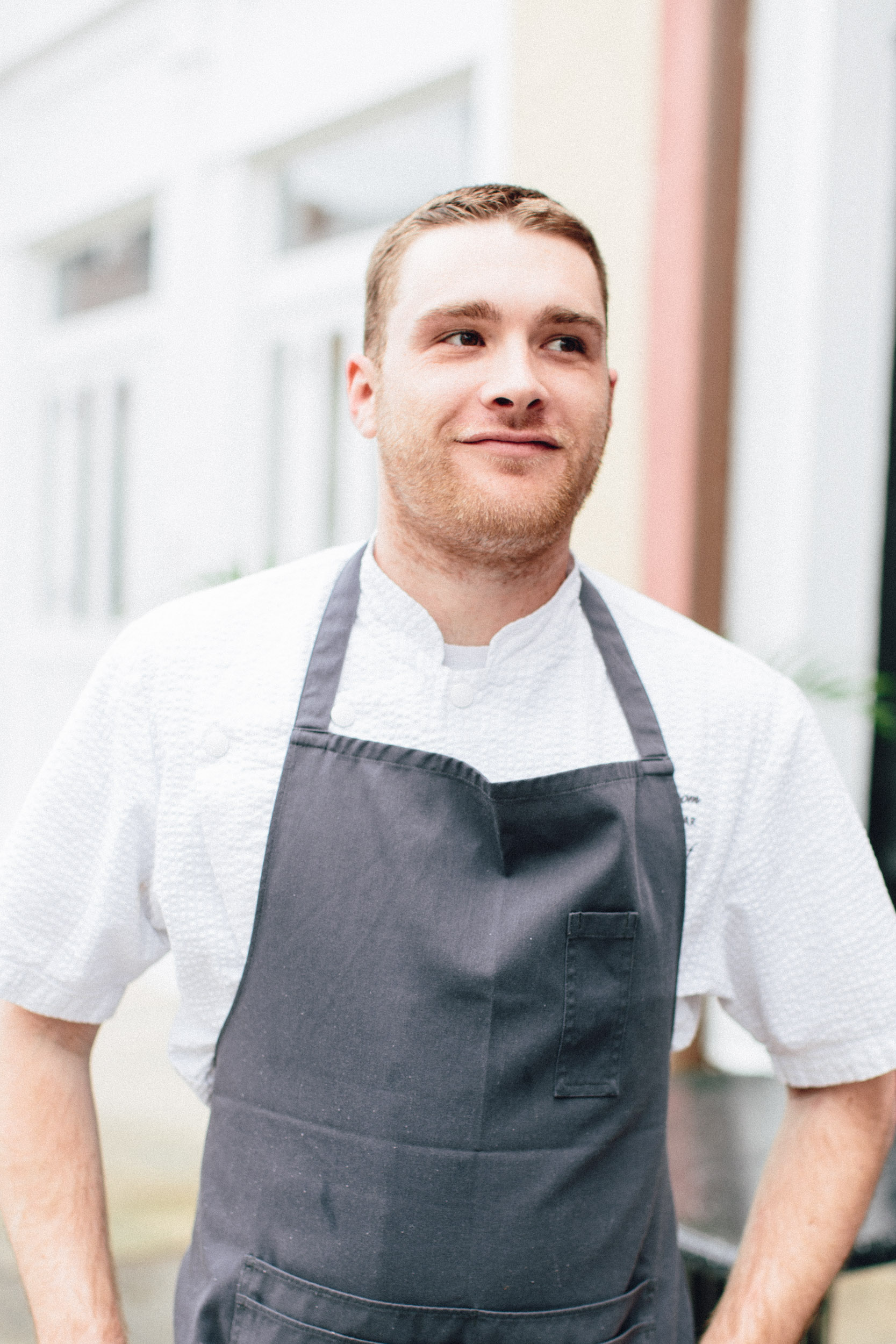 Executive Chef Cropf and Pasty Chef Tighe (below), have since taken their talent to Trummer's on Main in Clifton Virginia. Haven't heard of Clifton, but if I ever go, I'd defenitely see what these two are up to in the kitchen there!