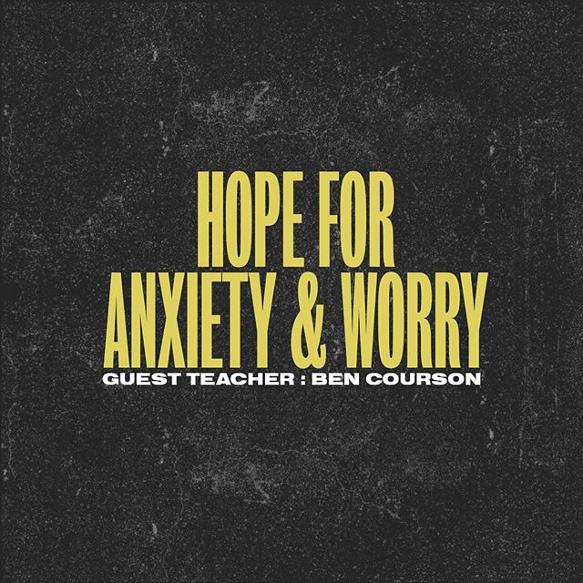 MISSED OUT LAST THURSDAY for HOPE NIGHT with @ben_courson??? Don't fret! We just uploaded the message on our PODCAST! Be sure to listen to this today, and get in the Presence! 🙌🏽⚡️