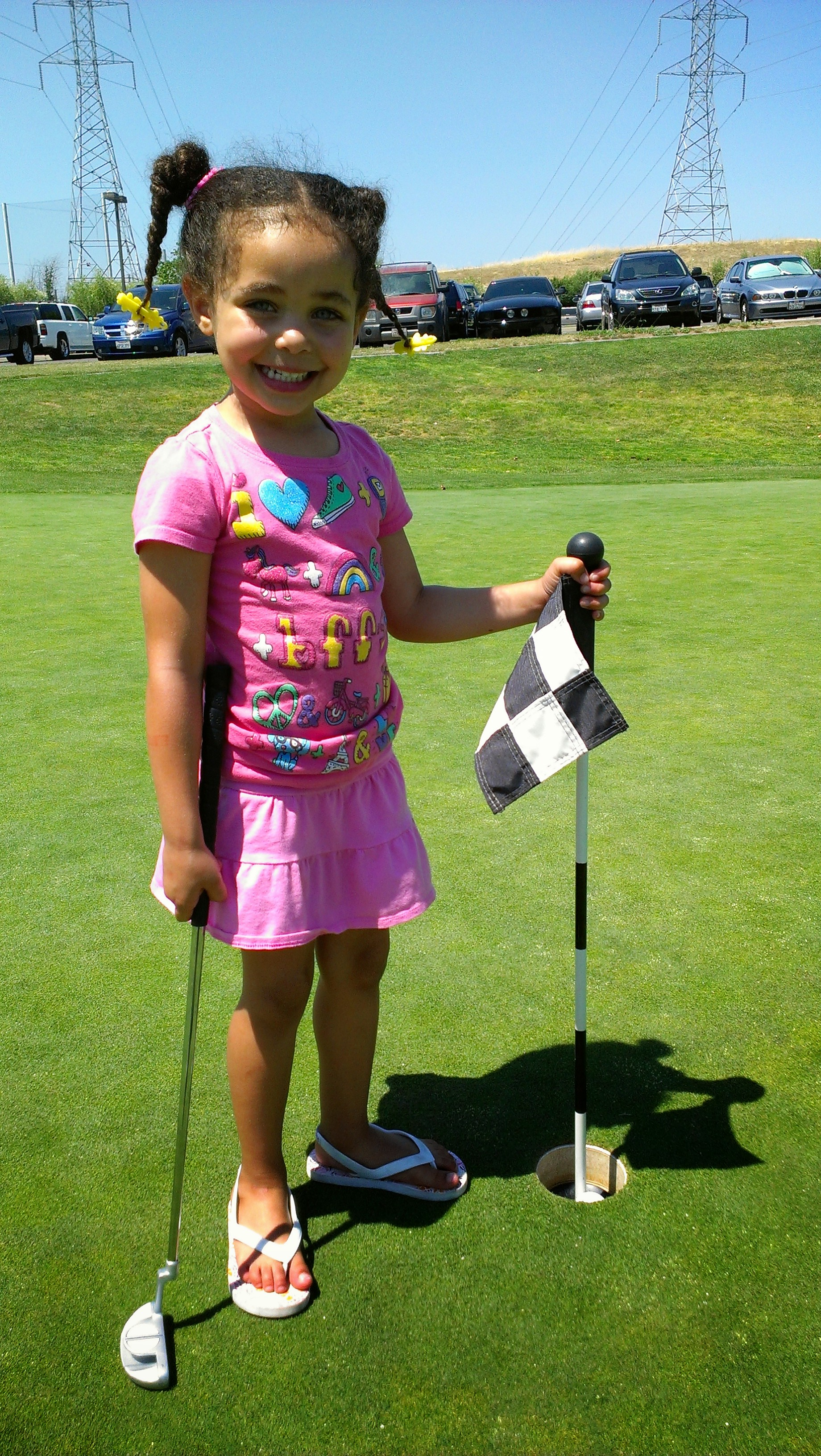 Girls Golf Folsom